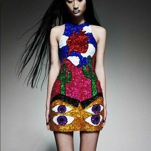 Di$count universe cactus heart dress limited ed